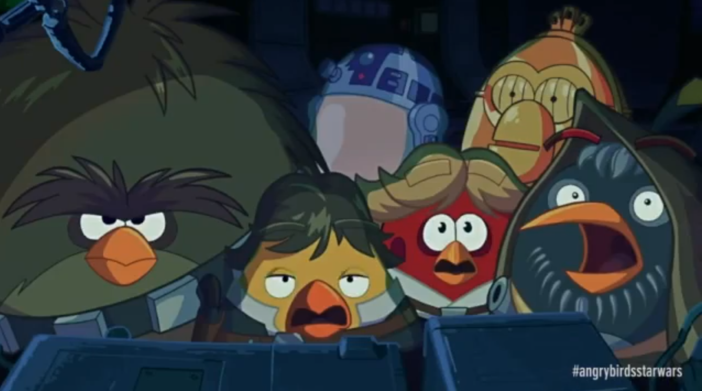 Animated Angry Birds Star Wars Trailer » Fanboy.com