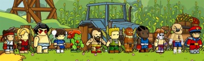 Scribblenauts Unlimited - Street Fighter II
