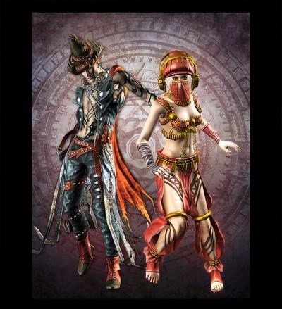 Soul Sacrifice Costumes