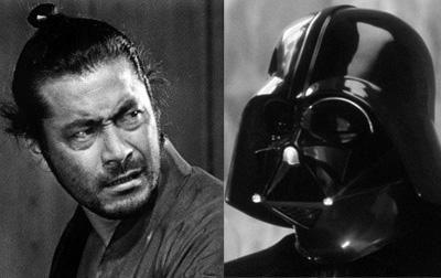 Toshiro Mifune & Darth Vader