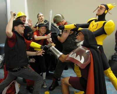 Team Fortress and Venture Brothers