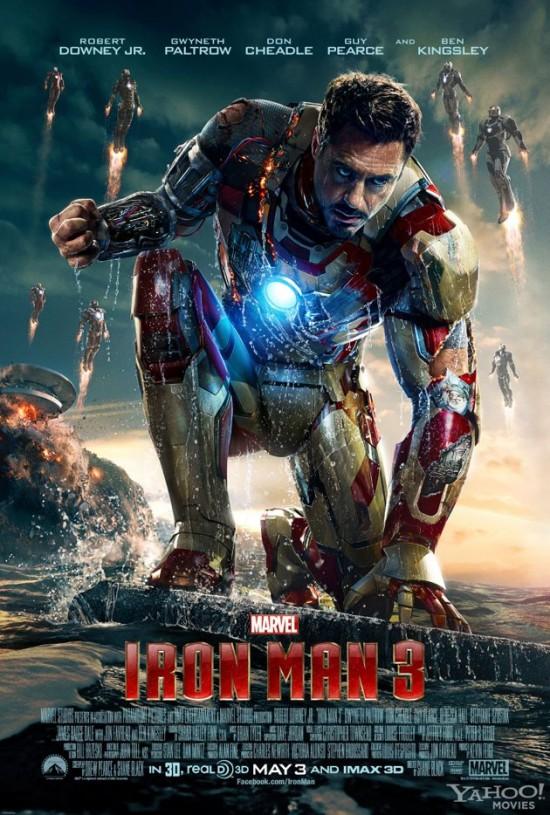 Superhero News Iron Man 3 And Of Steel Fanboy