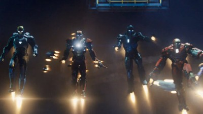 Iron Man 3 new suits