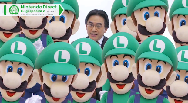 Iwata and Luigis