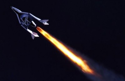 SpaceShipTwo's first powered flight a success