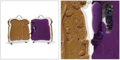 Pb & J Sandwich Suitcase
