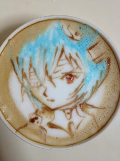 Coffee - Rei Ayanami