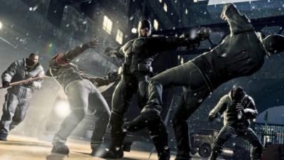 Batman: Arkham Origins fighting
