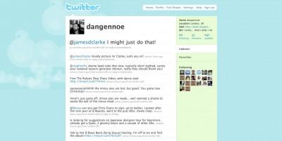 Old School Twitter Screenshot