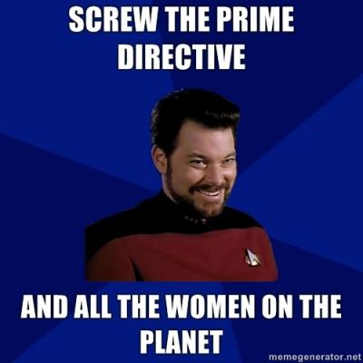 Riker Meme