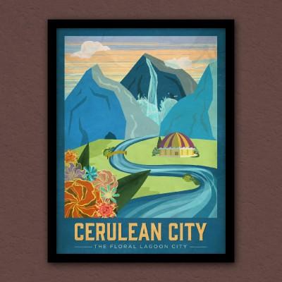 Cerulean Poster