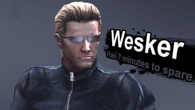 Fake Smash - Wesker