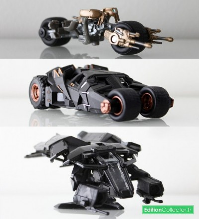 The Dark Knight Trilogy Blu-ray Vehicles