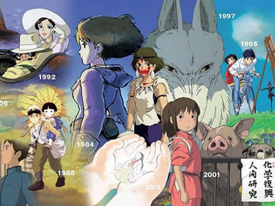 Ghibli Mural Header