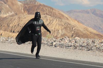 Darth Vader Runs