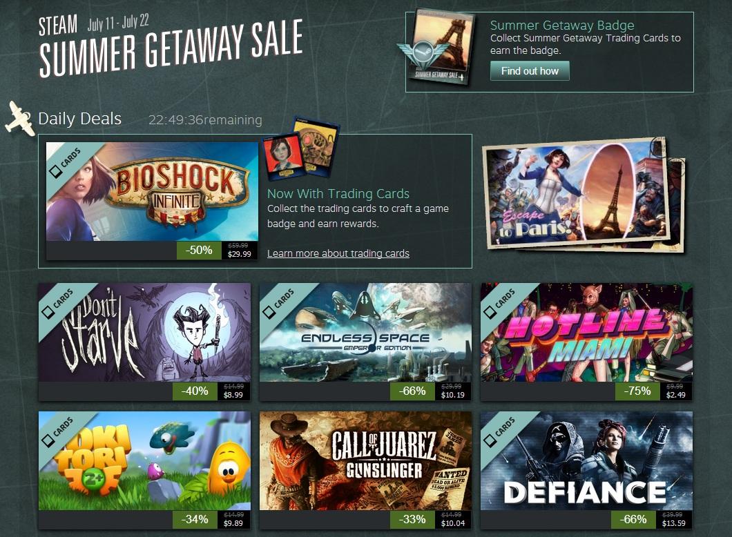 Summer Sale Steam 2015 Countdown The Steam Summer Getaway Sale