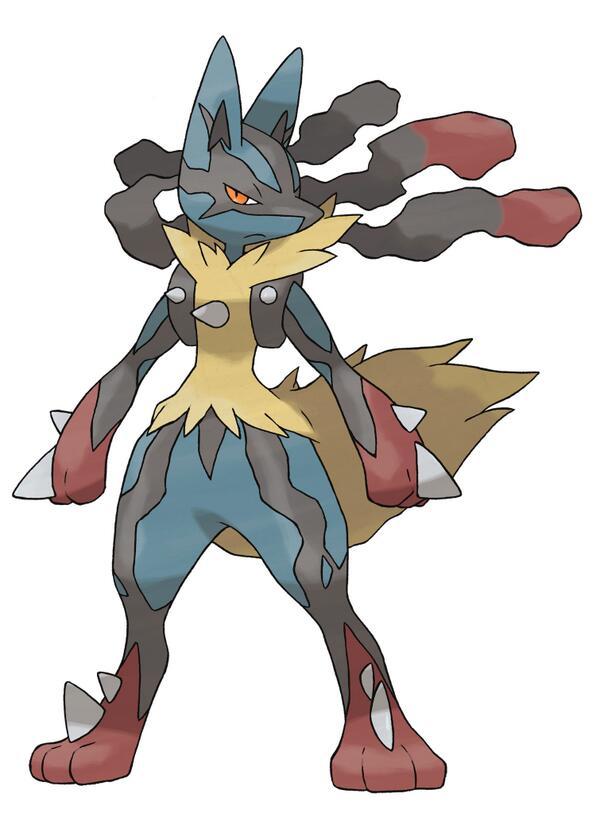 Pokemon x y mega evolutions revealed - Pokemon xy mega evolution ...