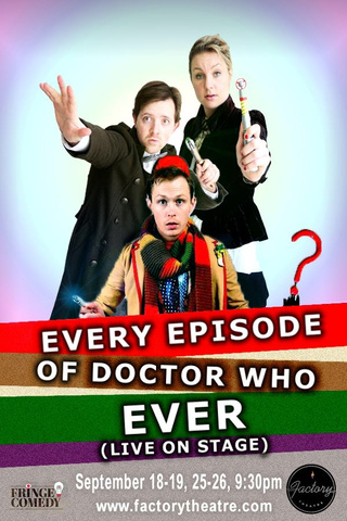Every Episode of Doctor Who Ever Live on Stage