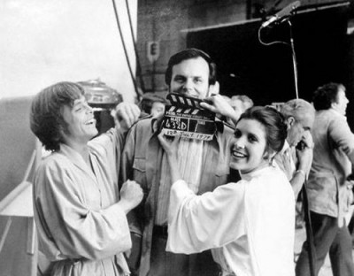 Star Wars set photo