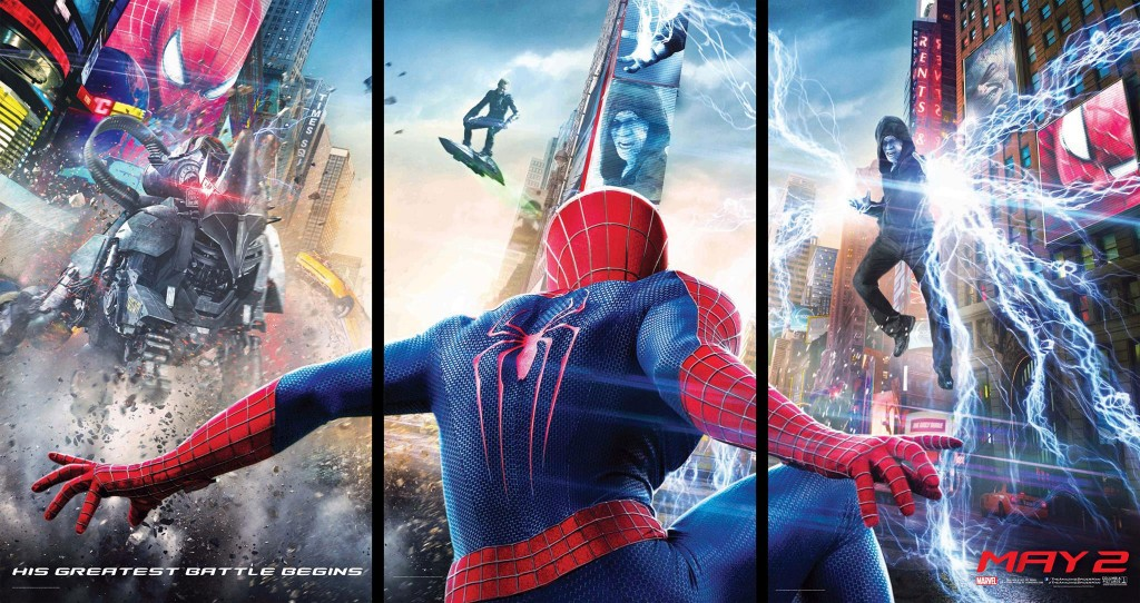 The Amazing Spider-Man 2 posters