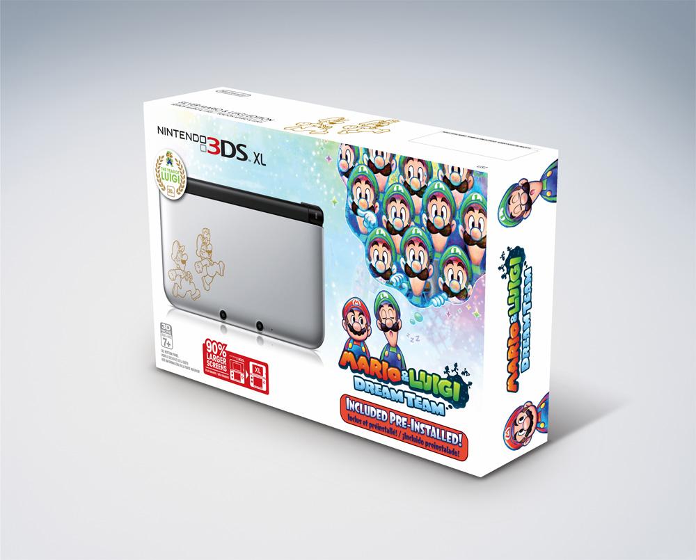 Mario & Luigi 3DS XL