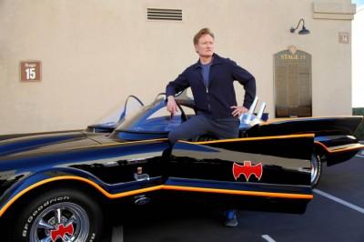Conan and Batmobile
