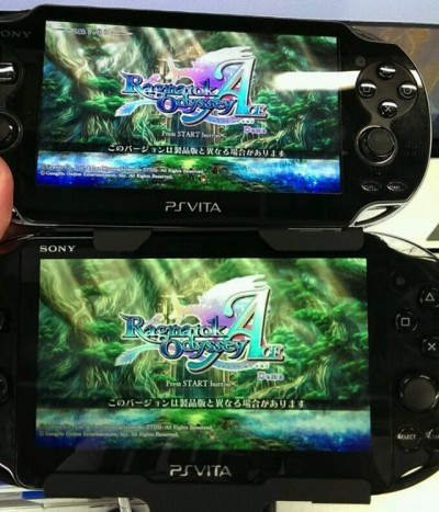 Vita screen comparison