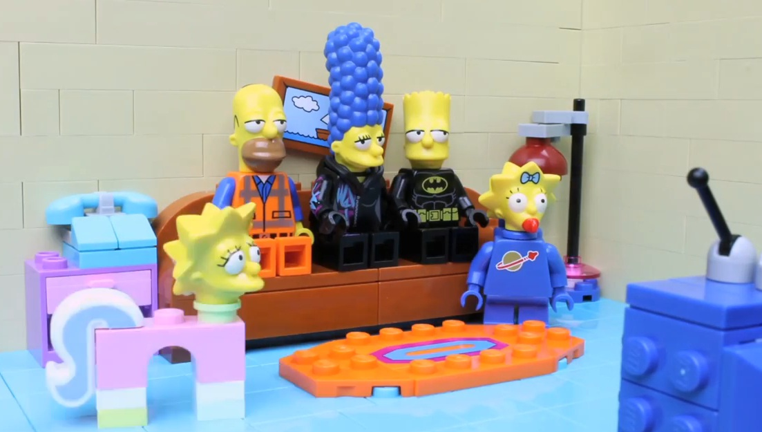 The LEGO Movie and The Simpsons Collide » Fanboy.com