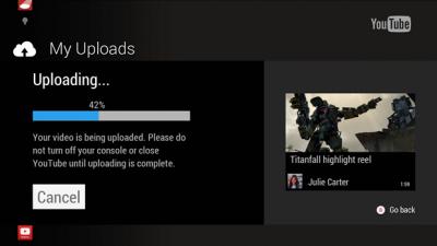 Xbox Upload