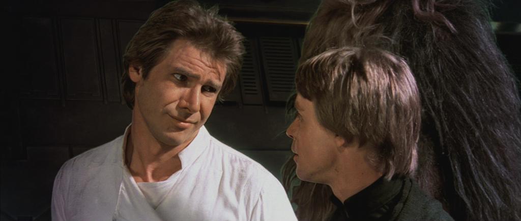 Han Solo and Luke Skywalker