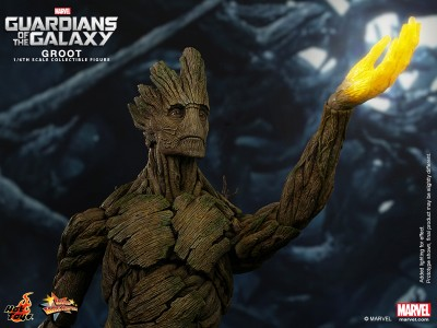 Hot Toys - Guardians of the Galaxy - Groot Collectible Figure_PR5-noscale