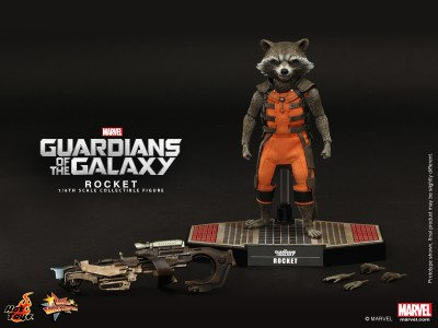 Hot Toys - Guardians of the Galaxy - Rocket Collectible Figure_PR11-noscale