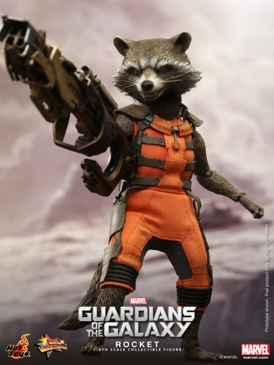 Hot Toys - Guardians of the Galaxy - Rocket Collectible Figure_PR3-noscale
