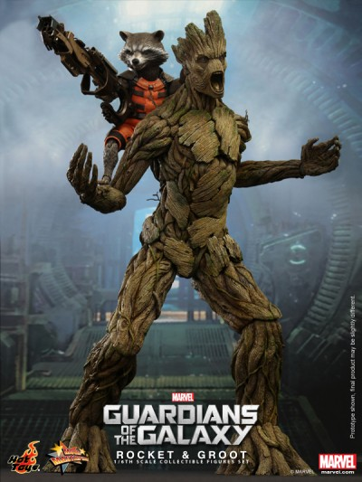 Hot Toys - Guardians of the Galaxy - Rocket & Groot Collectible Set_PR1-noscale