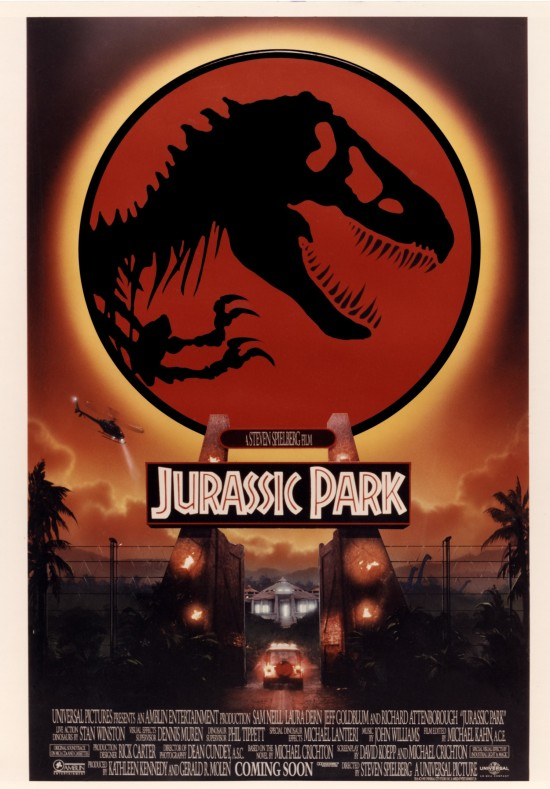 check out these awesome unused jurassic park posters by