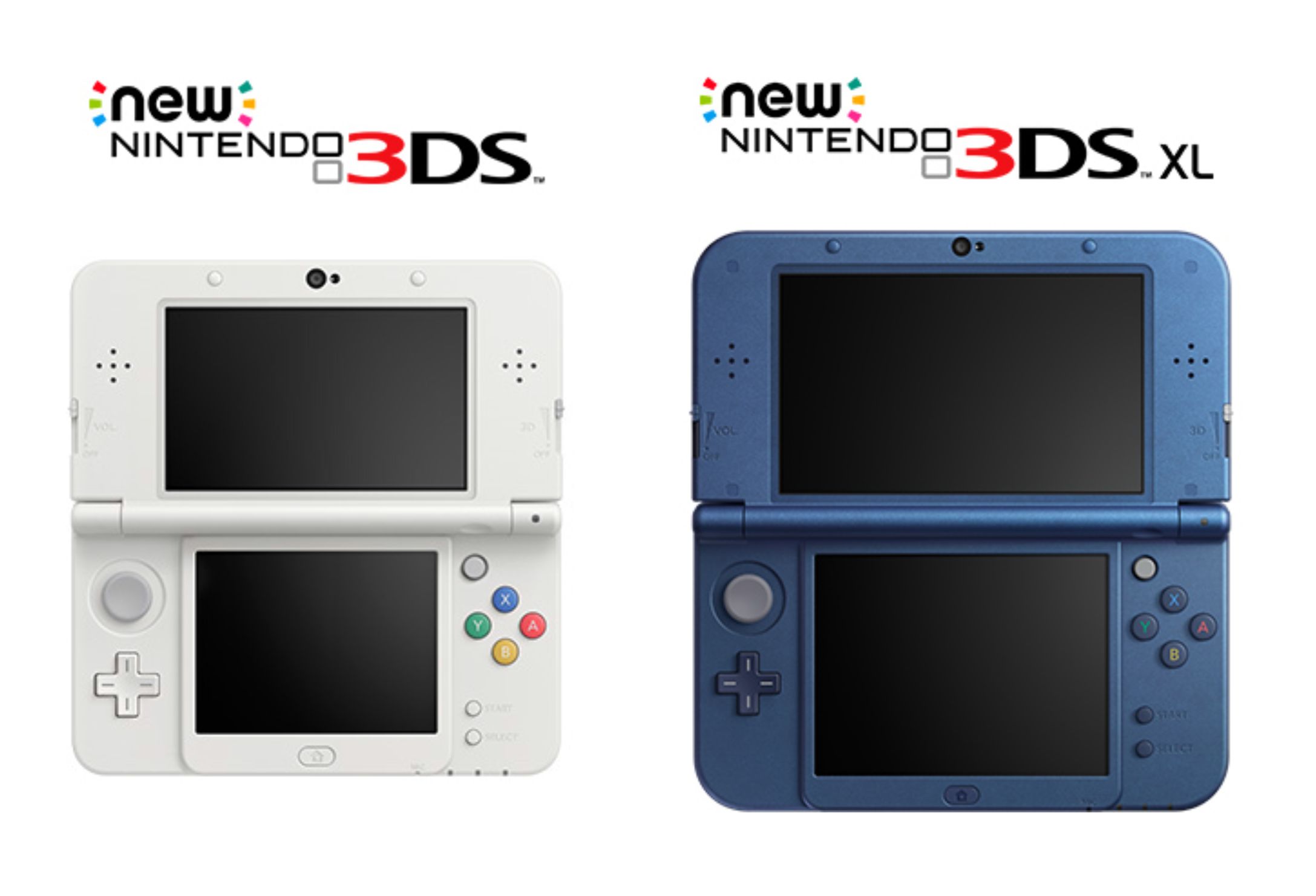 how to tell a nintendo 3ds from a new 3ds