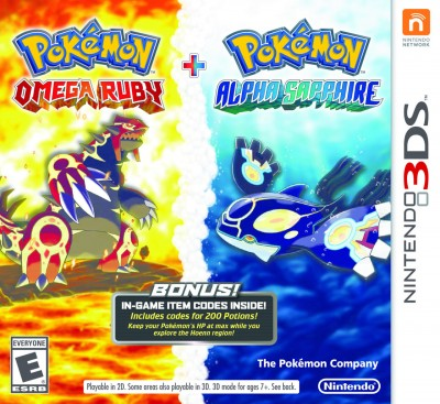 Pokemon Omega Ruby and Alpha Sapphire bundle