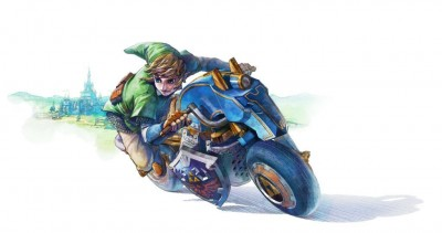 Link in Mario Kart 8