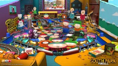 South Park in Zen Pinball