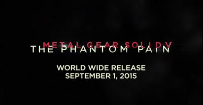 MGSV Release Date